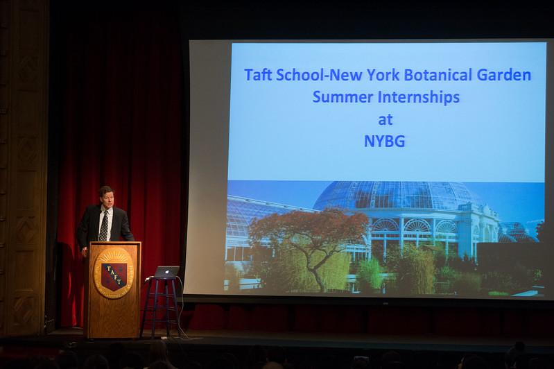 Robert Naczi of the New York Botanical Garden visits Taft