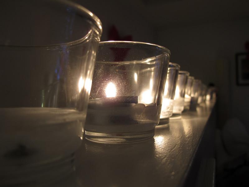 Candle row.<br /> <br /> Victoria, BC.