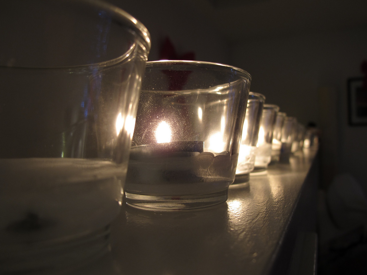 Candle row.<br /> <br /> Victoria, BC.