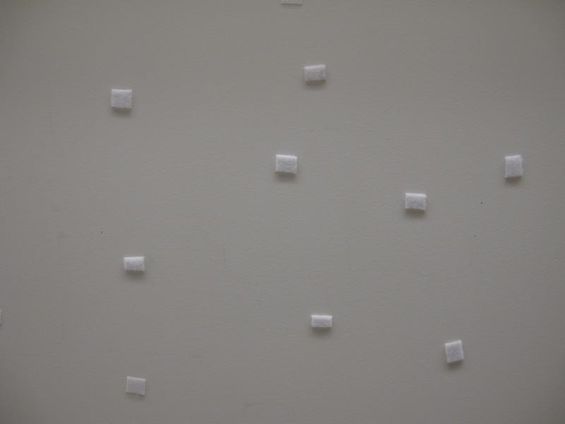 Foam tack pads.<br /> <br /> Victoria, BC.