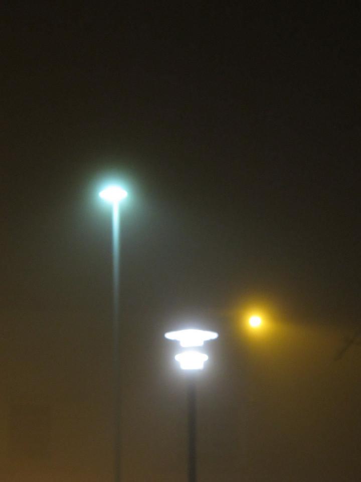 Fog lamps.<br /> <br /> Victoria, BC.