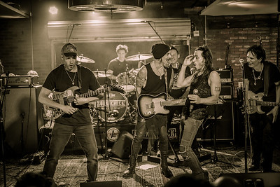 Lucky Strike Live with Tom Morello, Richie Kotzen, Nuno Bettencourt, & Steve Vai  - Los Angeles, 1.11.17