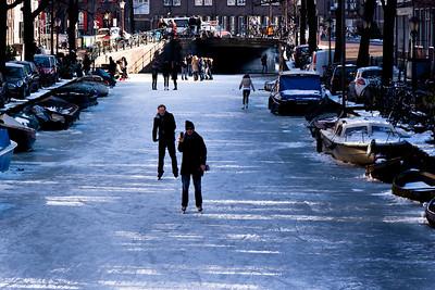 041 | Eglantiersgracht on ice