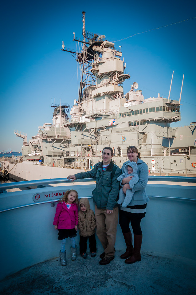 USS Wisconsin - January 17
