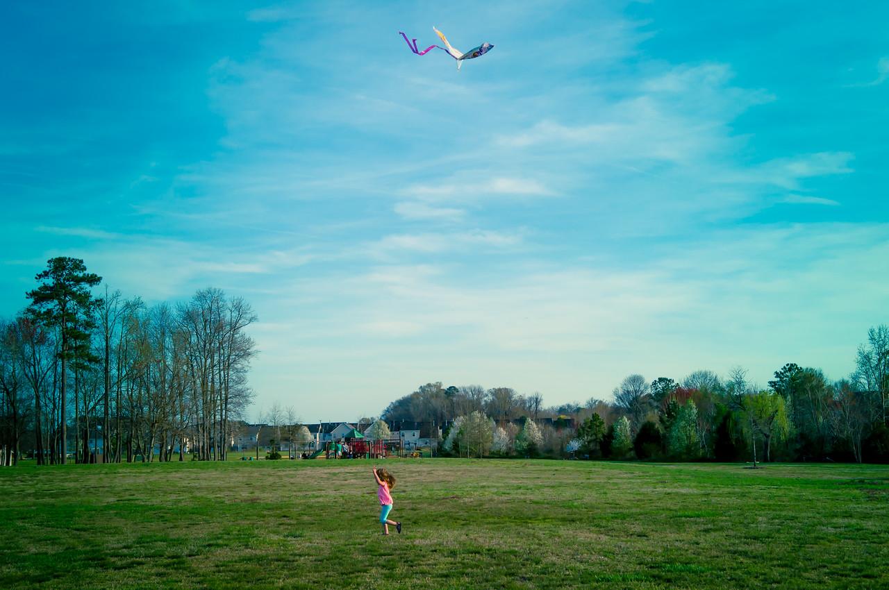 Flying My Kite - April 6
