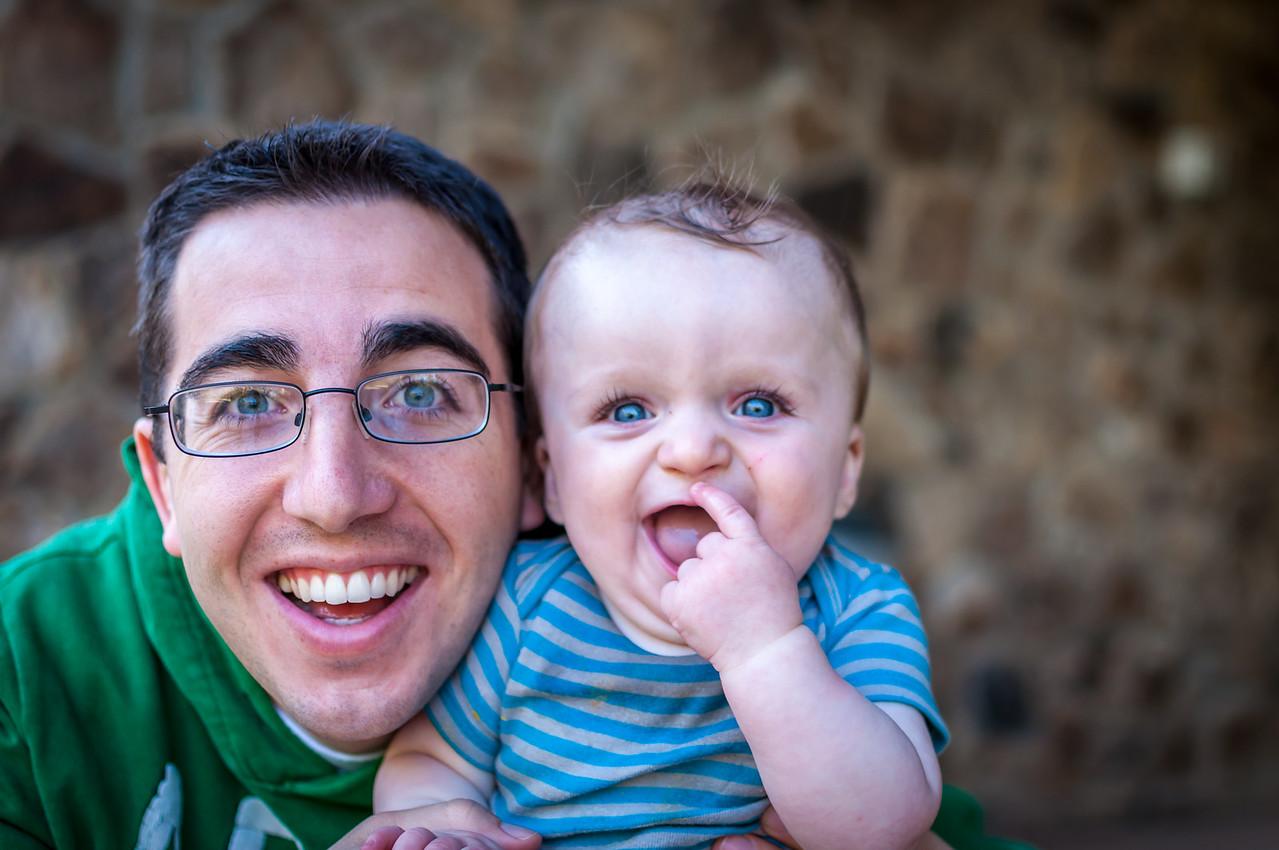 Dad and Hayden - April  28