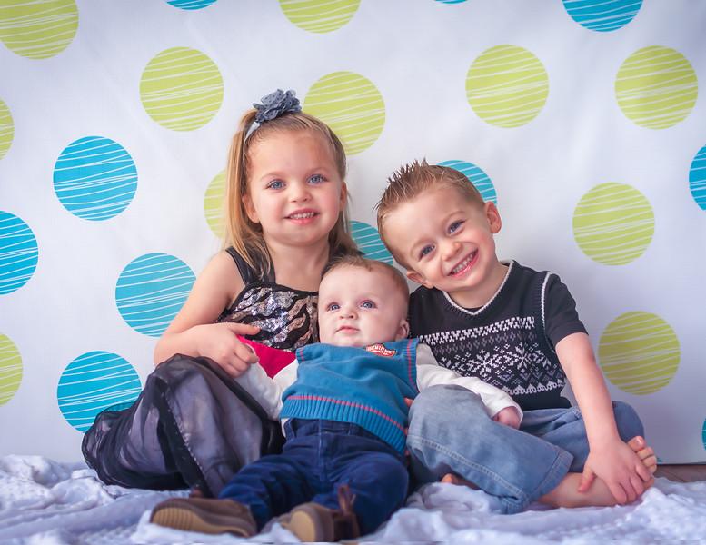 My Three Kids - February 1