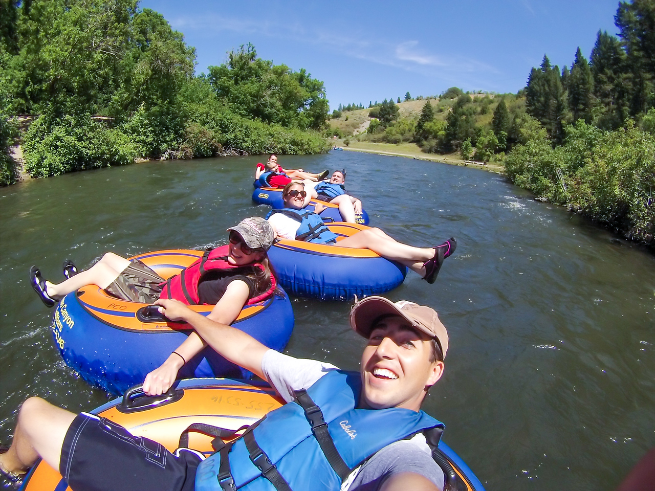 Floating the Provo River - July 30