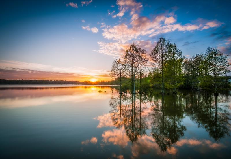 Spring Time at Stumpy Lake - April 16