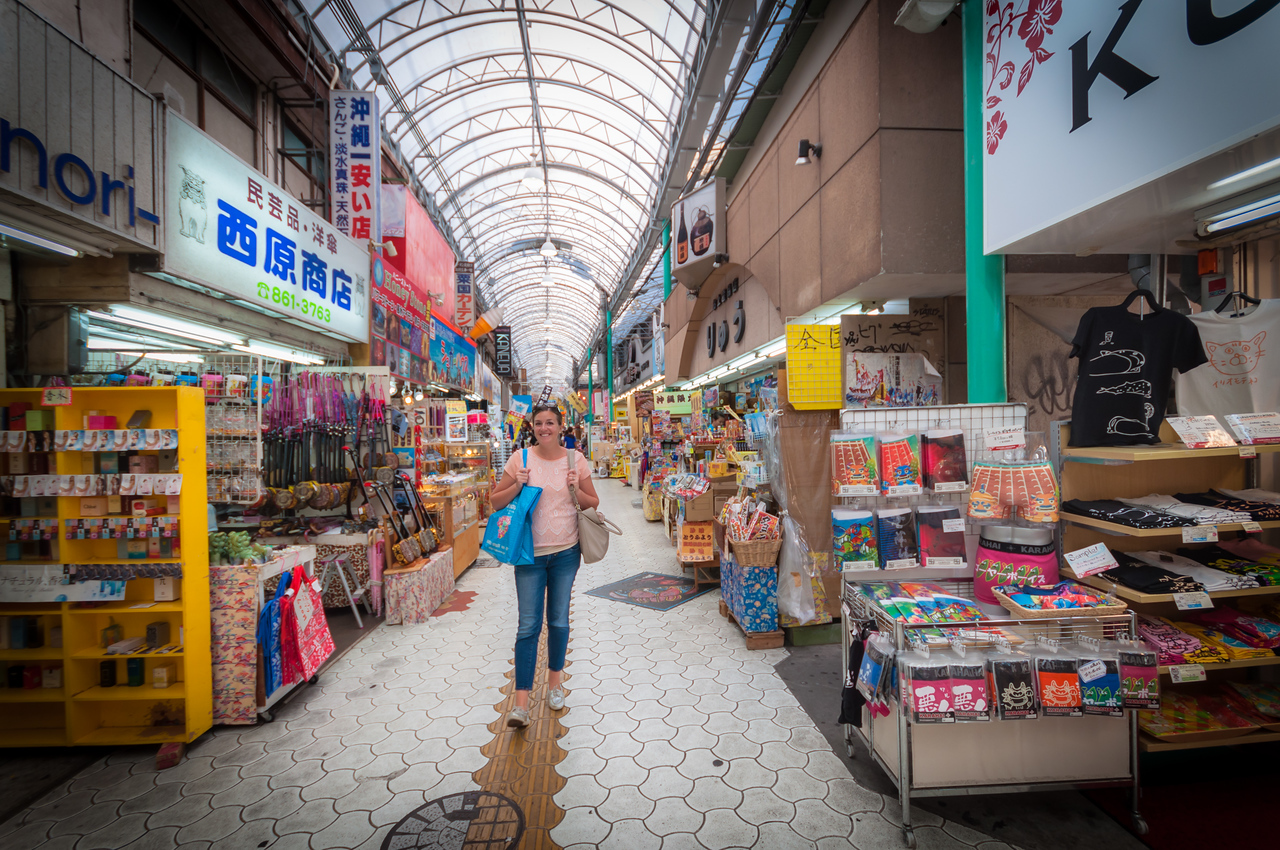 Shopping at Kokusai Street - September 25