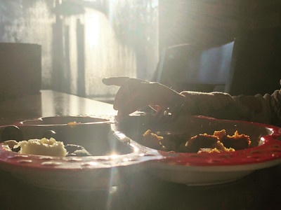 Sunshine and breakfast