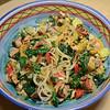 Salmon Veggies Pasta 1/19/14 Day 19
