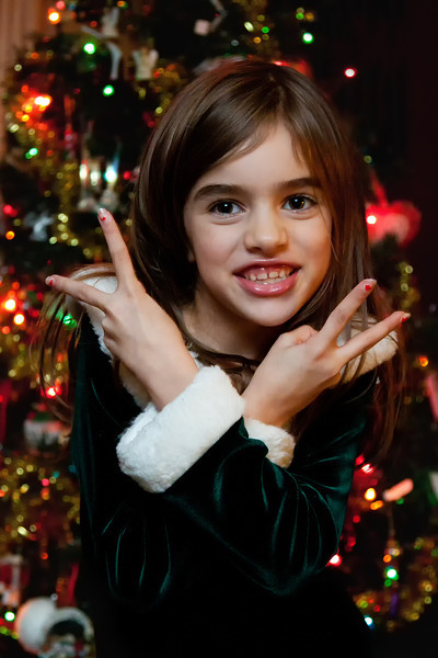 336_365 Kaylee at Christmastime