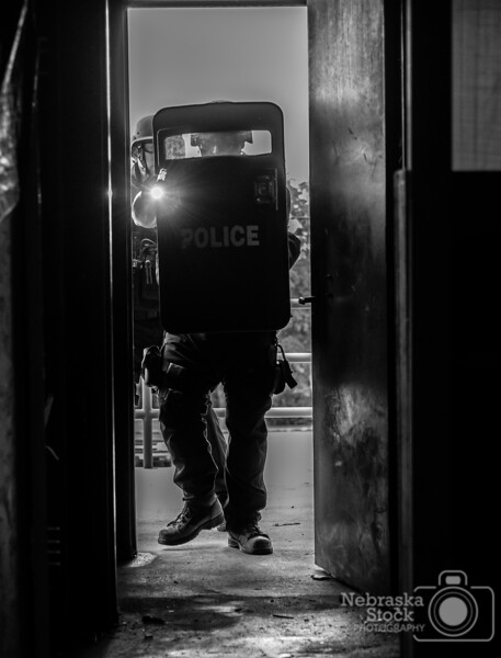 6-28-2018<br /> 179/365<br /> Members of the Norfolk Police Tactical Response Team did some training Thursday afternoon at the training tower in Norfolk. <br /> Photo taken with a Nikon D500 with a Nikon 28-70mm<br /> ISO 2800<br /> 1/640th at F2.8<br /> (110494)