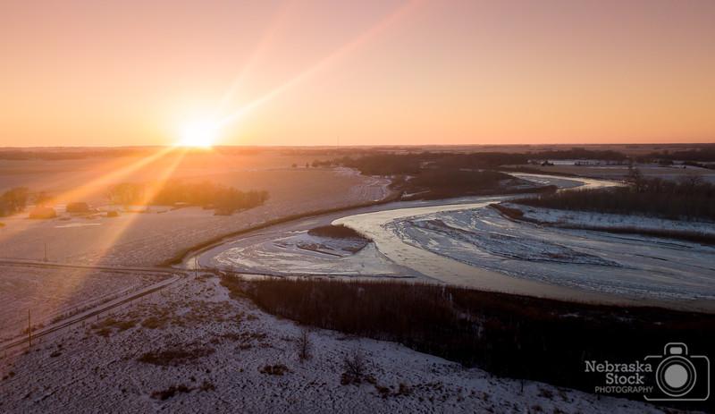 2018-12-29 Mavic Pro Elkhorn River