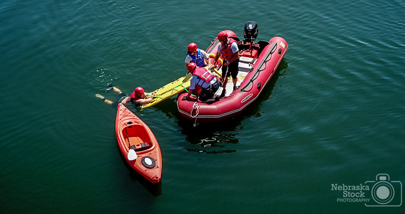 7-24-2018<br /> 205/365<br /> Members of Norfolk Fire and Rescue work on water rescue training Tuesday afternoon at Skyview lake in Norfolk. <br /> Photo taken with a DJI Mavic Pro<br /> ISO 100<br /> 1/1050th at F2.2<br /> (117902)