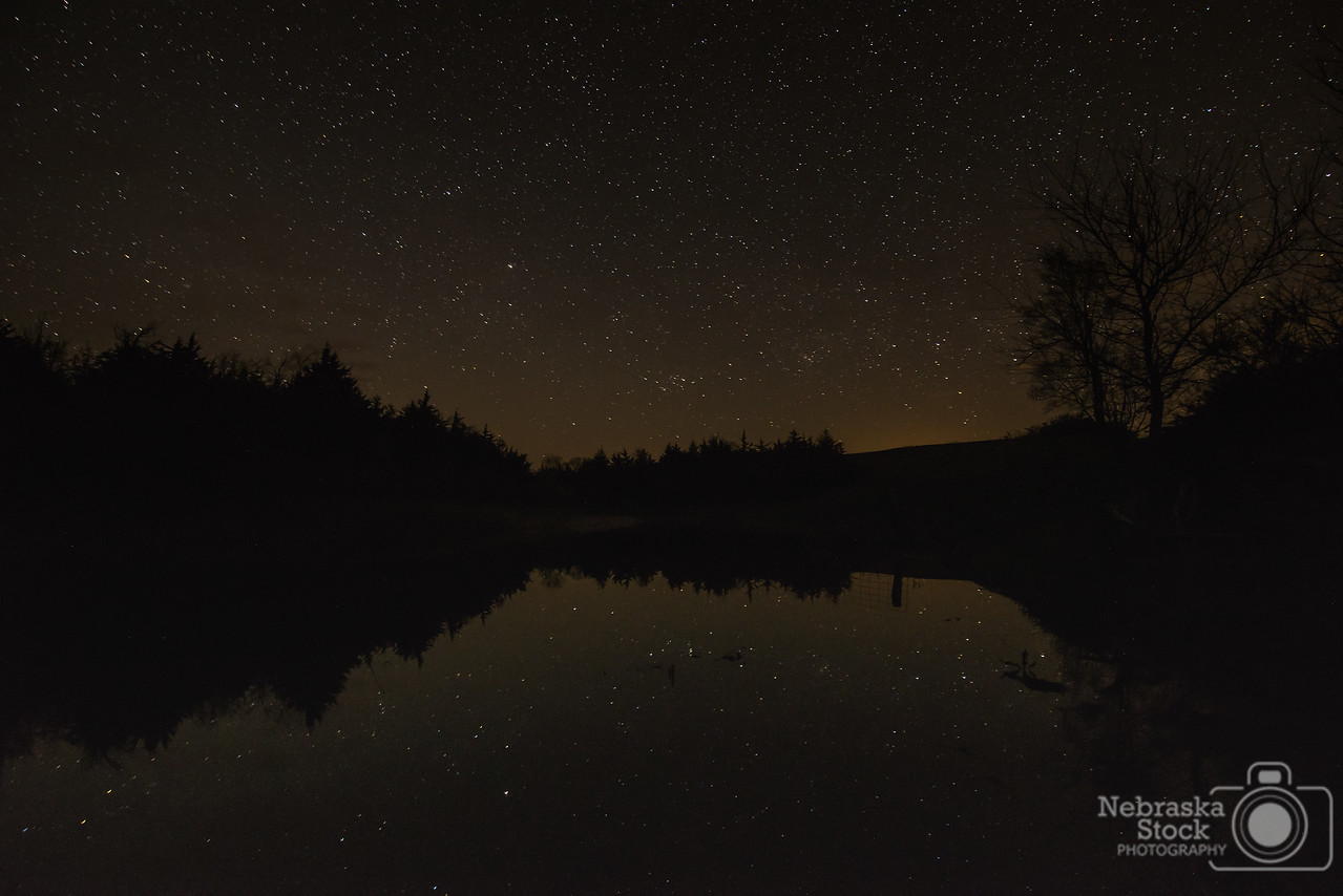 5-4-2018<br /> 124/365<br /> The night stars reflect off of a farm pond up in Knox County late Friday night. <br /> Photo taken with a Nikon D600 with a Tamron 15-30<br /> ISO1600<br /> 30 seconds at F4<br /> (78832)