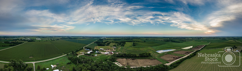 7-16-2018<br /> 197/365<br /> A pano of the northern part of Madison County Monday evening. <br /> Photo taken with a DJI Mavic Pro<br /> ISO 100<br /> 1/120th at F2.2<br /> (116236)