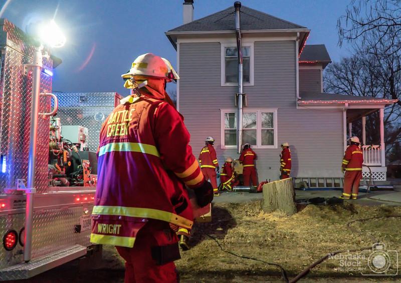 2018-12-20 Battle Creek House Fire