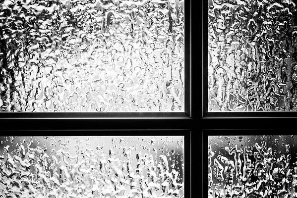 ice on the panes