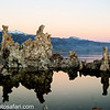Day 4 - This picture was taken at Mono Lake in the Eastern Sierras and it was like landing on the moon. The early morning sunrise lends itself to beautiful colors and still waters. The rock formations are called tufa towers and are made of limestone.