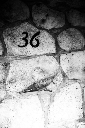 098 - a house number