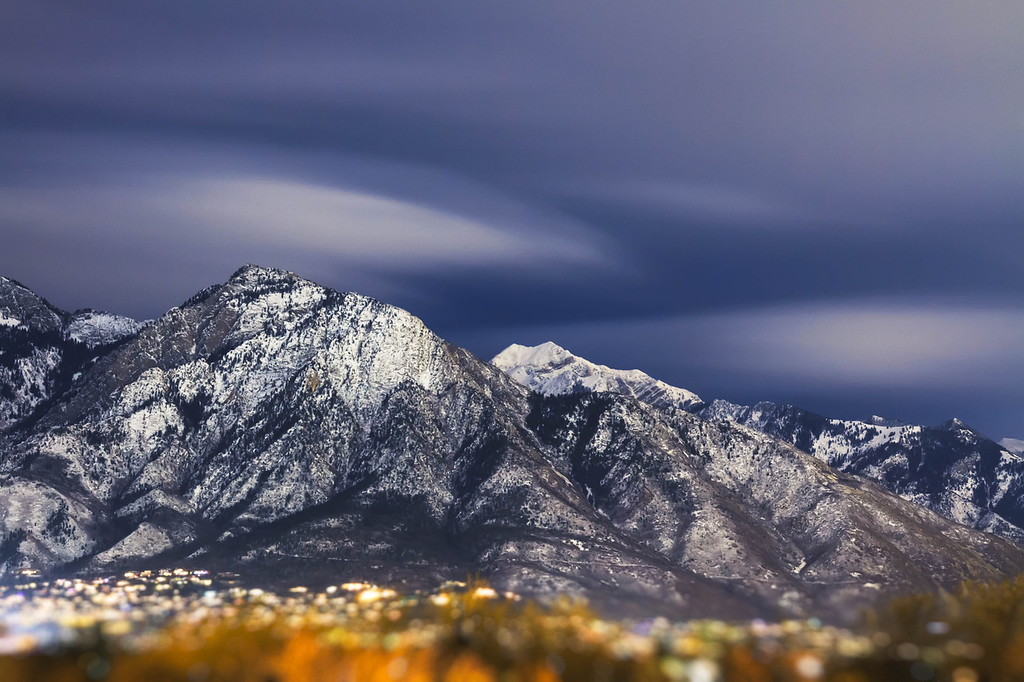 347 of my 365 project; Mount Olympus and Twin Peaks