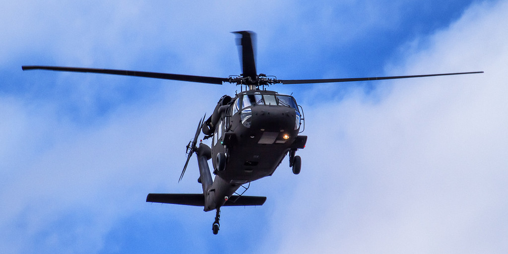 75 of my 365;  they left a Blackhawk!