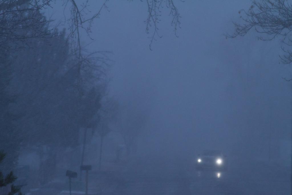 60 of my 365 project;  Winter storm Kearns, Utah