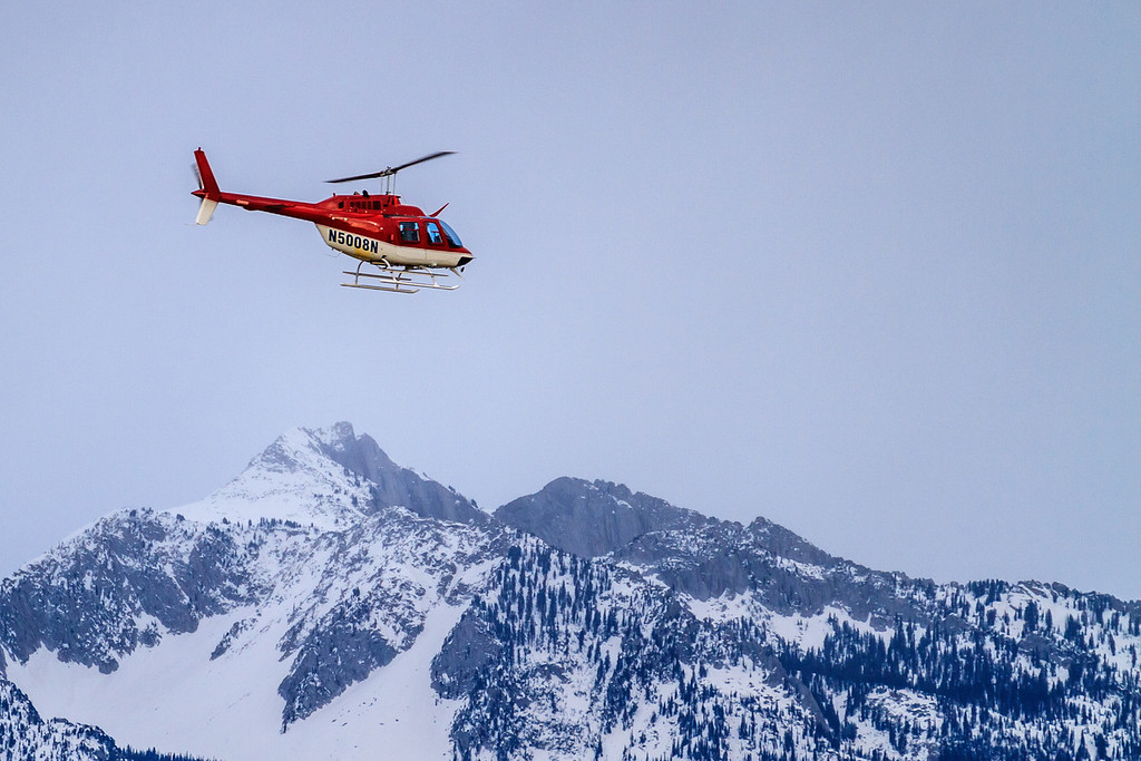 74 of my 365 project; Lone peak and Helo