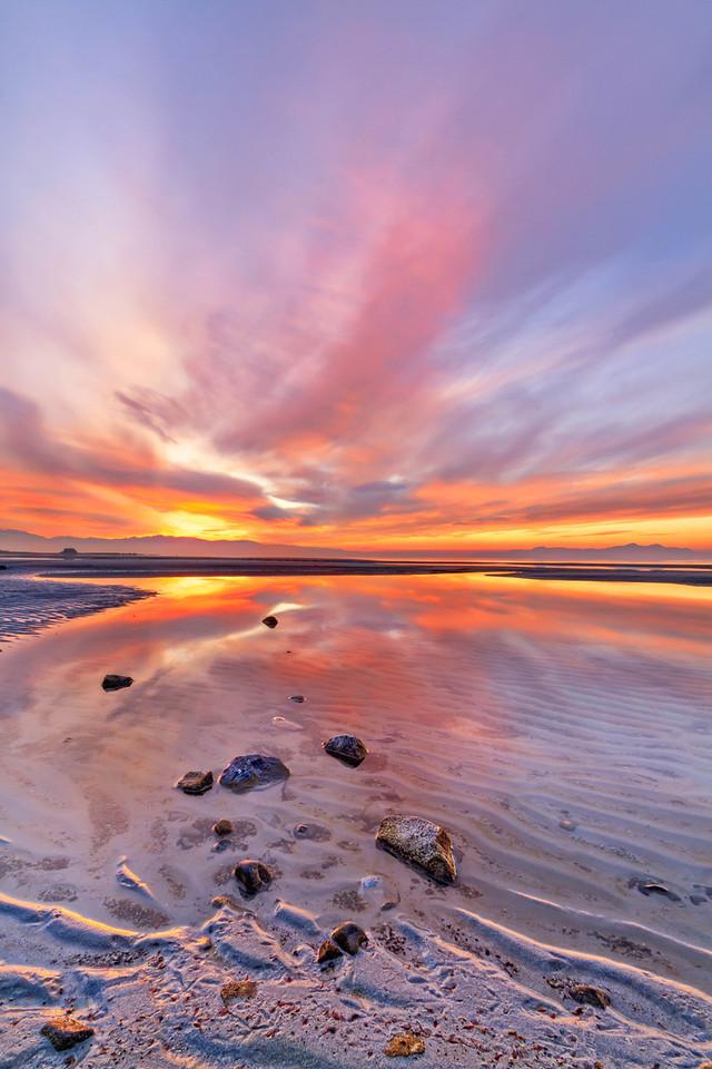 319 of my 365 project; Salt Lake sunset