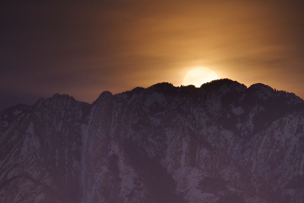 moonrise; 38 of my 365 project!