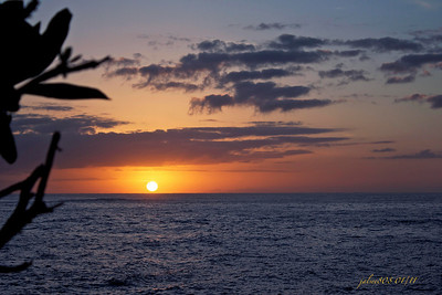 Day 9 of 365, Laie Point Sunrise - January 9, 2011