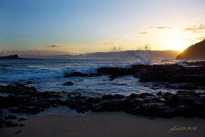 Day 8 of 365 - Makapu'u Sunrise - January 8, 2011