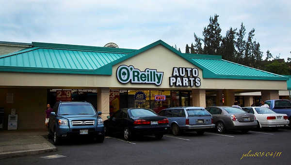 O'Reilly Auto Parts, Kane'ohe, O'ahu, Hawai'i - Day 101 of 365, April 11, 2011