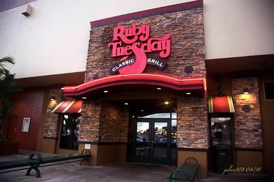 Ruby Tuesday Restaurant, Windward Mall, Kane'ohe, O'ahu, Hawai'i - Day 109 of 365, April 19, 2011