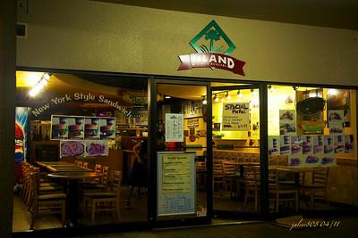 Island Subs and Burgers, Manoa Marketplace, Honolulu, O'ahu, Hawai'i - Day 117 of 365, April 27, 2011