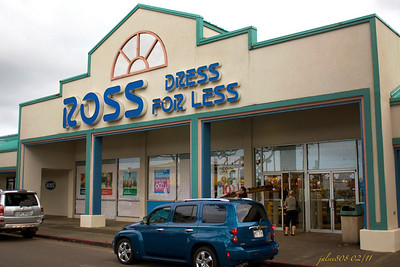 Ross - Dress for Less, Windward City Shopping Center, Kane'ohe, O'ahu, Hawai'i - Day 40 of 365, February 9, 2011