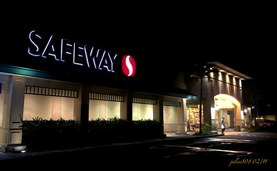 Safeway, Kane'ohe Bay Shopping Center, Kane'ohe, O'ahu, Hawai'i - Day 48 of 365, February 17, 2011