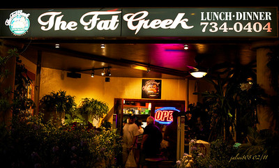 The Fat Greek, Honolulu, O'ahu, Hawai'i - Day 46 of 365, February 15, 2011