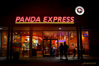 Panda Express Restaurant, Kane'ohe Bay Shopping Center, Kane'ohe, O'ahu, Hawai'i - Day 33 of 365, February 2, 2011
