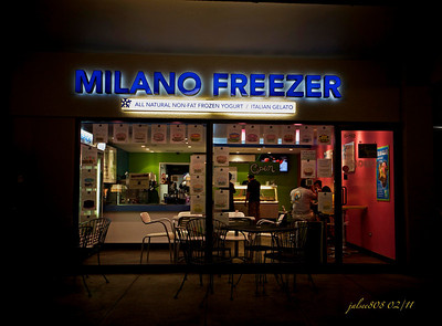 Milano Freezer, Manoa Shopping Center, Honolulu, O'ahu, Hawai'i - Day 59 of 365, February 28, 2011