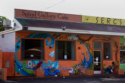 Spiral Gallery Cafe, Waimanalo, O'ahu, Hawai'i - Day 36 of 365, February 5, 2011