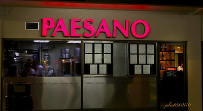 Paesano Restaurante Italiano, Manoa Marketplace, Honolulu, O'ahu, Hawai'i - Day 19 of 365, January 19, 2011