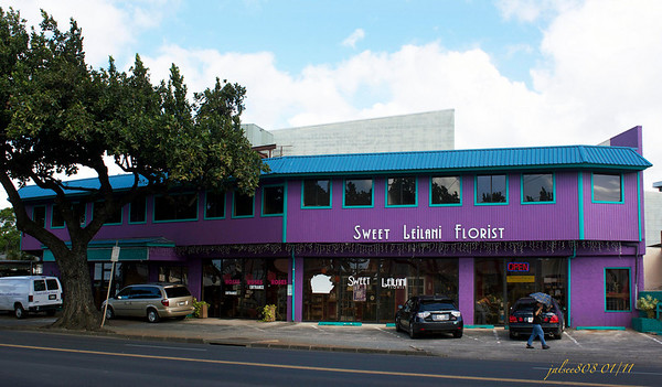 Sweet Leilani Florist, Honolulu, O'ahu, Hawai'i - Day 4 of 365 - January 4, 2011