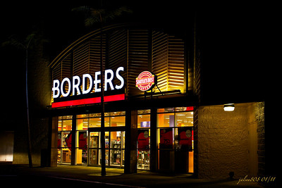 Borders, Windward Mall, Kane'ohe, O'ahu, Hawai'i - Day 13 of 365, January 13, 2011