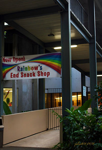 Rainbow's End Snack Shop, Paradise Park, Manoa Valley, Honolulu, Hawai'i - Day 17 of 365, January 17, 2011