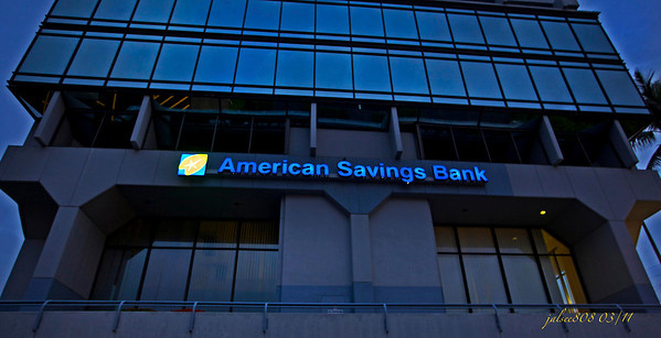 American Savings Bank, Kane'ohe, O'ahu, Hawai'i, Day 65 of 365, March 6, 2011