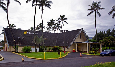 McDonald's Restaurant at the Polynesian Cultural Center, Laie, O'ahu, Hawai'i - Day 64 of 365, March 5, 2011