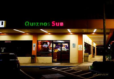 Quiznos Sub, Kane'ohe, O'ahu, Hawai'i - Day 67 of 365, March 8, 2011